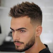 short hairstyle for men